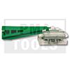 MERCEDES E-Klasse W124, 85-94, WS-Klip Dachleiste, grün