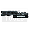 MERCEDES E-Klasse W211, 02-09, WS-Klip Dachleiste, schwarz