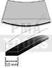 OPEL Astra H, 04-10, WS-Quellschaumband, 4 m, 10 mm