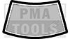 PEUGEOT 205 I & II ohne Glasdach, 83-97, WS-Vollgummi ohne Leistenaussparung