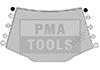 PEUGEOT 407 Lim./Kombi, 04-10, WS-Klipse Set A-Säule, 10 Stück