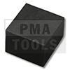 RENAULT Mégane CC, 10-, Abstandhalter, selbstklebend, schwarz