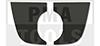 DAF XF 105, 13-, Klebeplättchen für Kamerahalter Spurassistent
