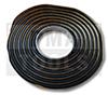 Butylkautschukband, schwarz, 8 mm, 3 m Rolle